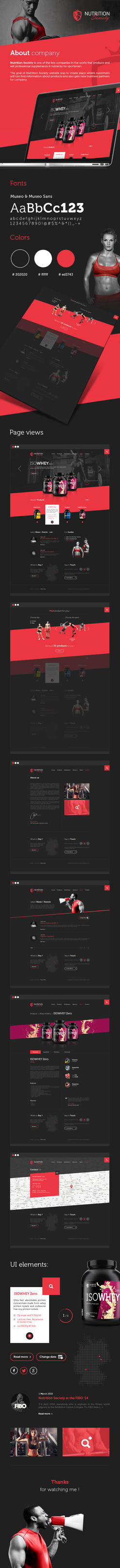 Nutrition Society Website by carl913