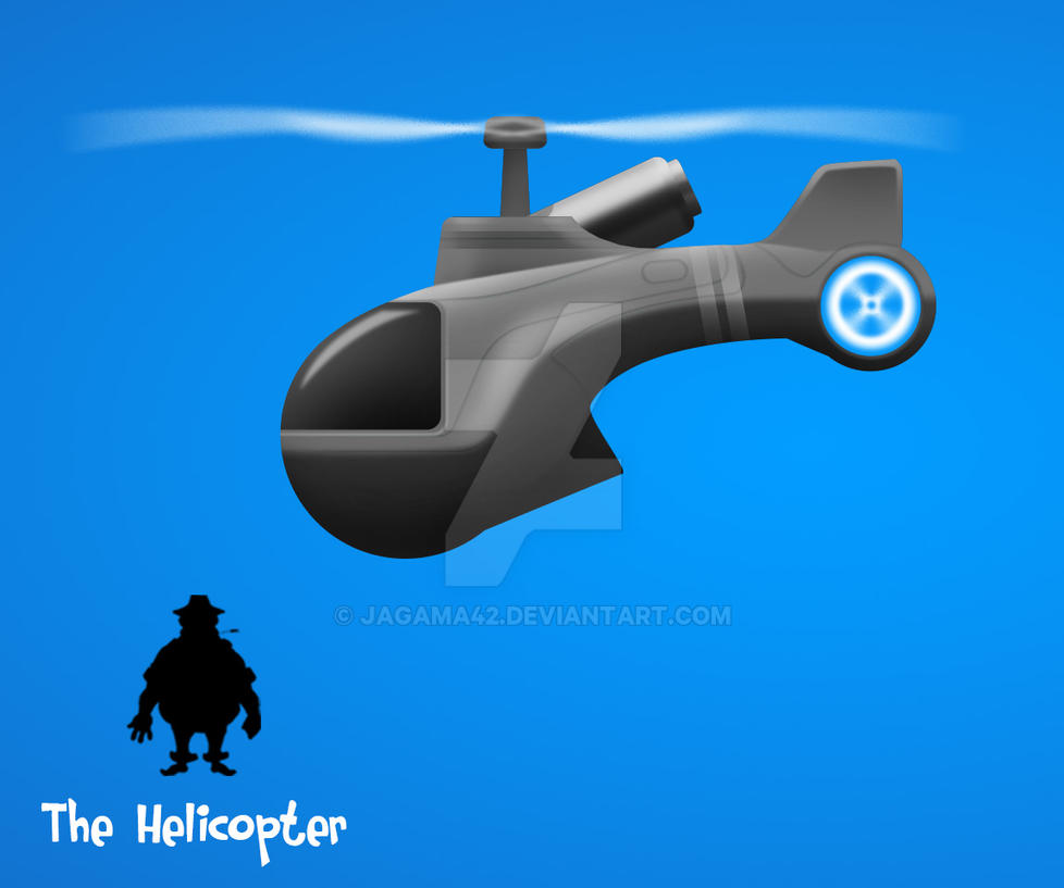 Helicopter Concept by jagama42
