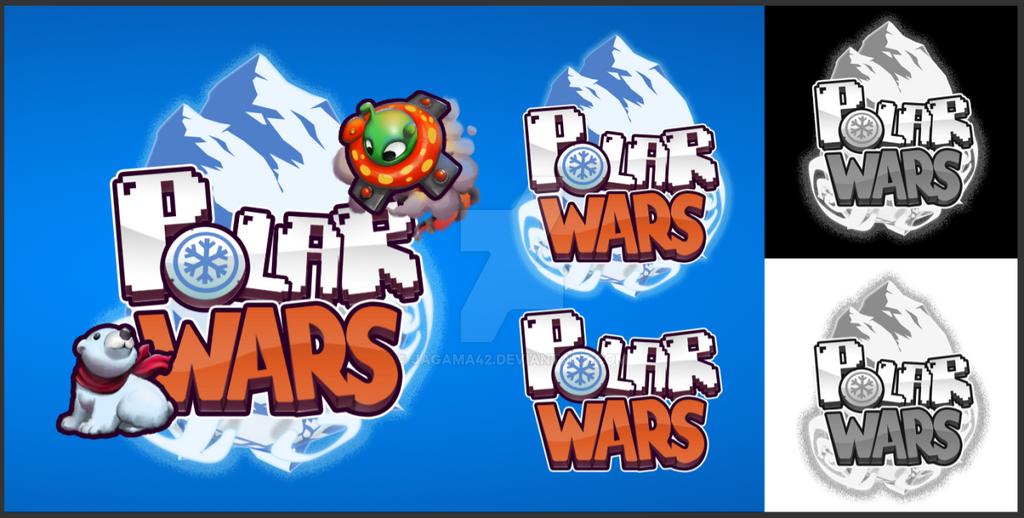 Polar Wars Gaming Logo by jagama42