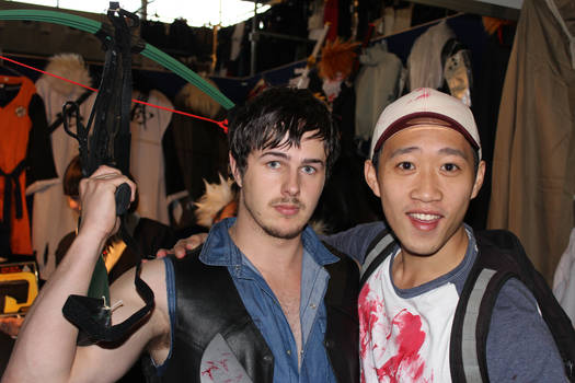 The Walking Dead Cosplay ,Daryl and Glenn