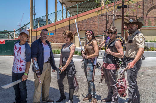 The Walking Dead Cosplay ( Brisbane Supanova )