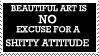 no excuse -stamp- by blueharuka