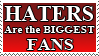 haters- stamp by blueharuka