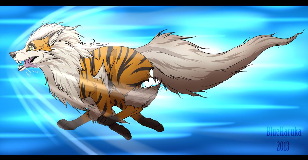Hikari goes Extremespeed by blueharuka