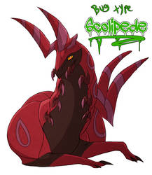 Favorite bug type- Scolipede by blueharuka