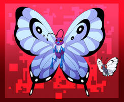 Butterfree- Nostalgia on Paper-thin Wings by blueharuka