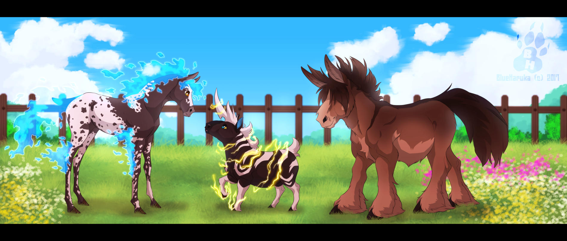 Out on the Ranch by blueharuka