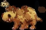 Hippopotas- Body full of sand