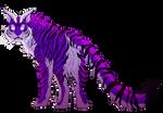 Purple Tiger Is Amazing Tiger