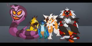 My Ultra Moon Team so far