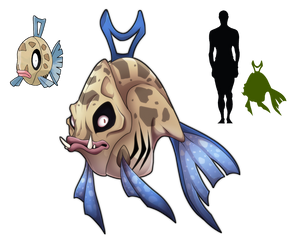 Feebas- Not The Prettiest Fish in the Sea