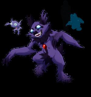 Sableye- Mischievous Gem Eater