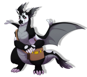Pokemon Headcanon- Pan-Mail Dragonite