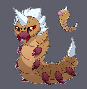 'A Weedle packs a Wallop!'- Concept