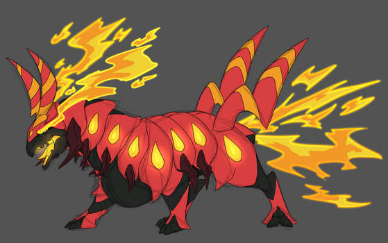 The Inferno Bug!- Commission