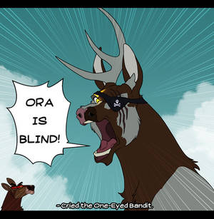 Ora Is Blind