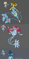 Sinnoh's Lake Guardian Deities