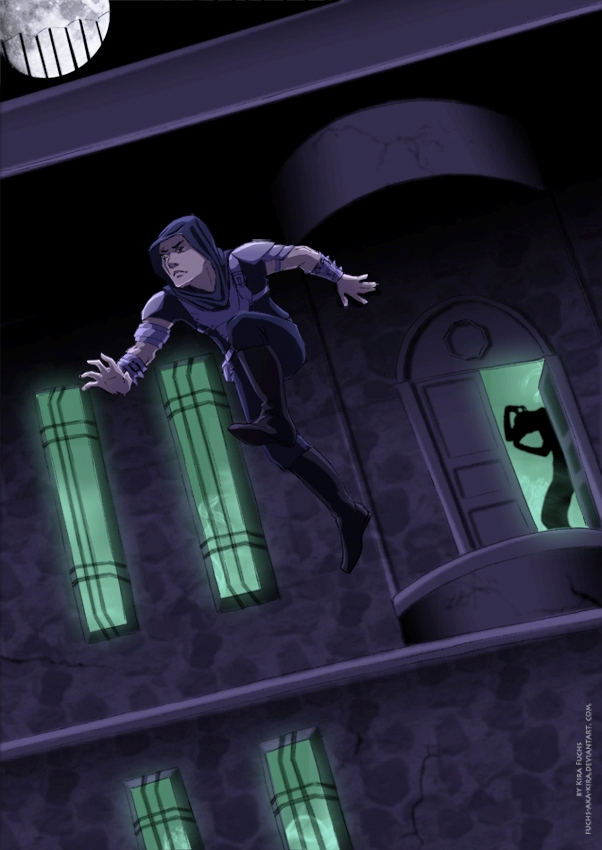 Garrett - Escape From The Cradle by fuchs-aka-kira