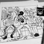 PARTY TIME - Illustration Progress Part-3