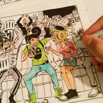 PARTY TIME - Illustration Progress Part-5