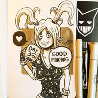 Day 36 - Good Morning by N1NJAKEES
