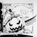 INKTOBER 1 - Fast and Pumpkin