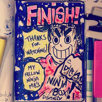 Sketchbook Day 81 - FINISH by N1NJAKEES