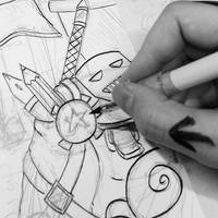 INKING! by N1NJAKEES