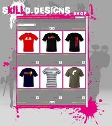 skilld.designs shop layout WIP by theSASTA