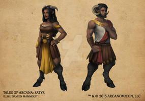 Tales of Arcana 1st Set - Satyr