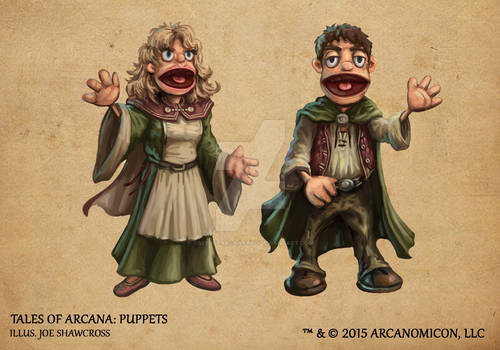 Tales of Arcana 1st Set - Puppets