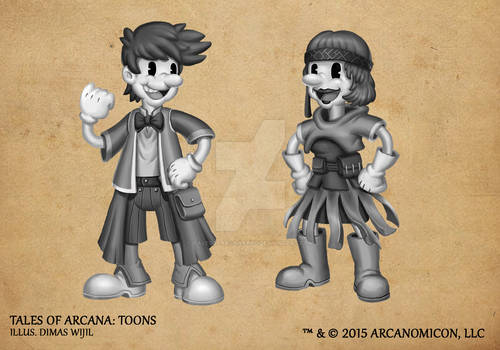 Tales of Arcana 1st Set - Toons