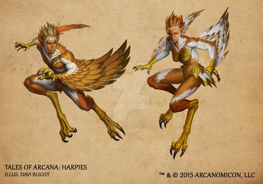 Tales of Arcana 1st Set - Harpies by TalesofArcanaRPG