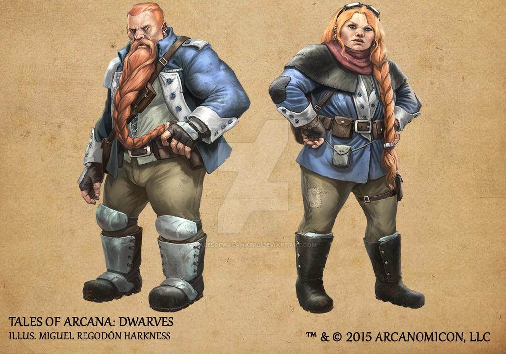 Tales of Arcana 1st Set - Dwarves by TalesofArcanaRPG