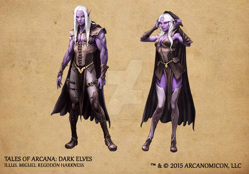Tales of Arcana 1st Set - Dark Elves