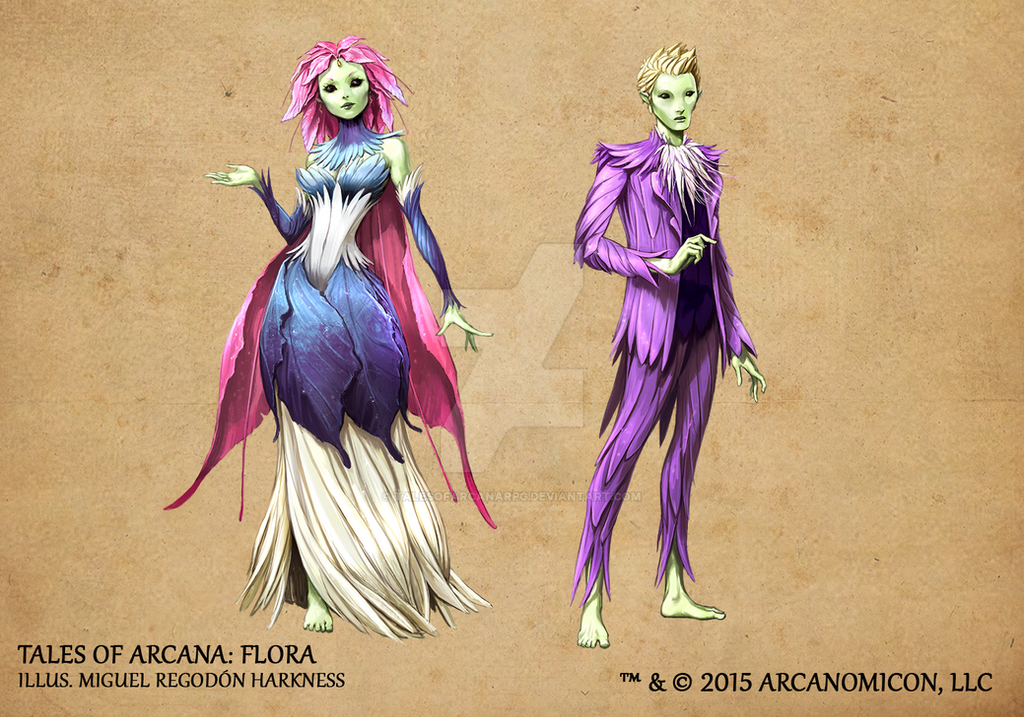 Flora by TalesofArcanaRPG