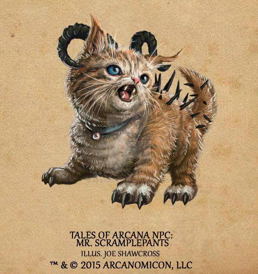 Tales of Arcana NPC - Mr. Scramplepants by TalesofArcanaRPG