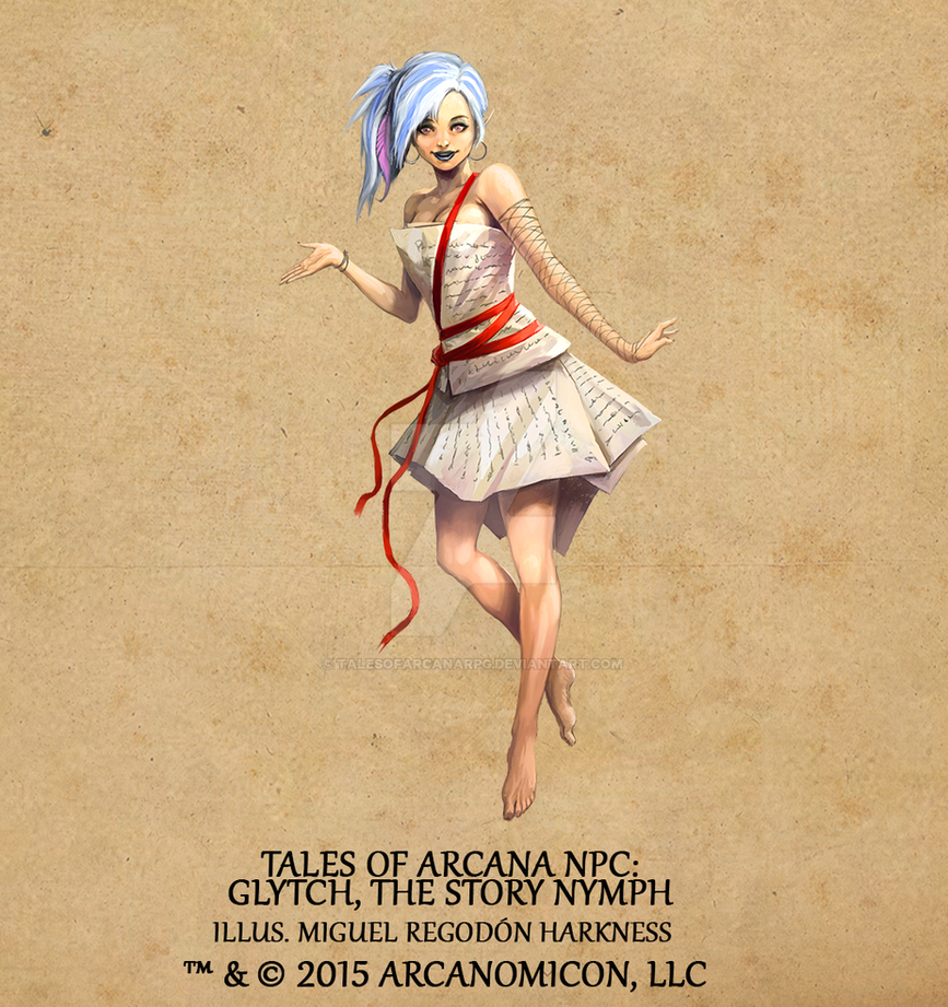 Tales of Arcana NPC - Glytch by TalesofArcanaRPG