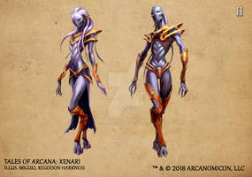 Tales of Arcana 2nd Set - Xenari