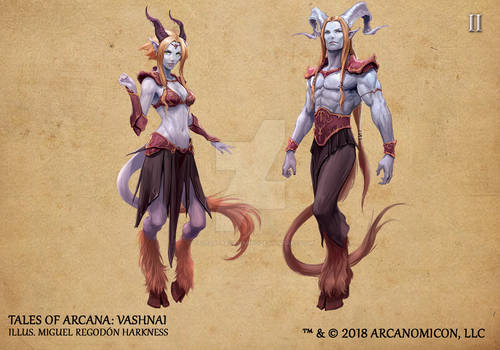 Tales of Arcana 2nd Set - Vashnai