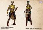 Tales of Arcana 5E Race Guide - Mummy
