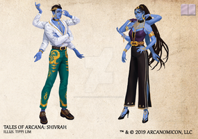Tales of Arcana 5E Race Guide - Shivrah
