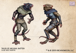 Tales of Arcana 5E Race Guide - Ratten