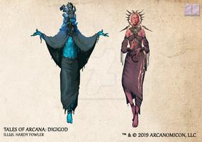 Tales of Arcana 5E Race Guide - Digigod