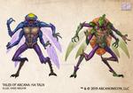 Tales of Arcana 5E Race Guide - Ha Taln