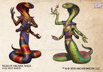 Tales of Arcana 5E Race Guide - Naga