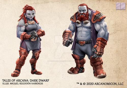 Tales of Arcana 5E Race Guide - Dark Dwarf