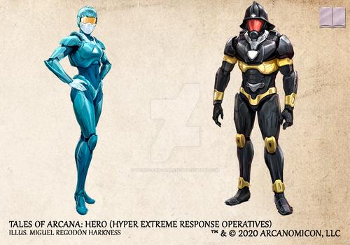 Tales of Arcana 5E Race Guide - HERO