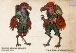 Tales of Arcana 5E Race Guide - Argaroc