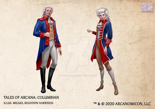 Tales of Arcana 5E Race Guide - Columbian